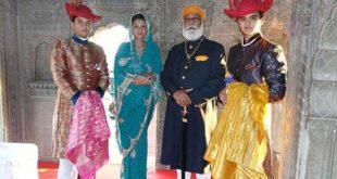 scindia family history
